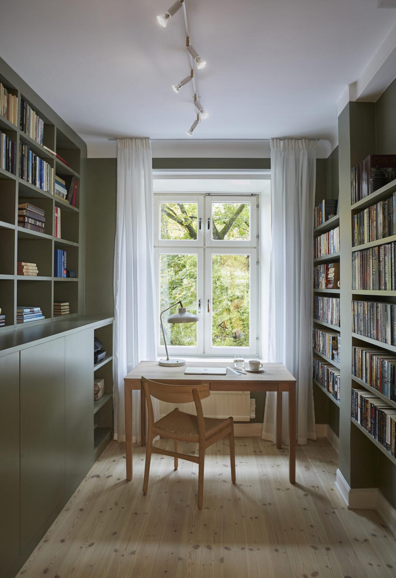 Grönt hemmakontor / green home office