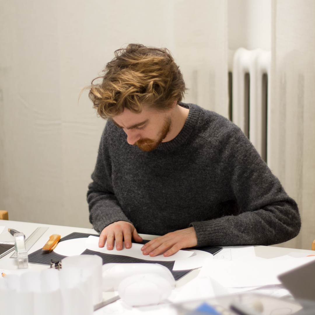 Aksel Hahn trainee at Odda design studio